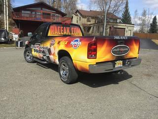 Dodge Truck Wrap Graphics