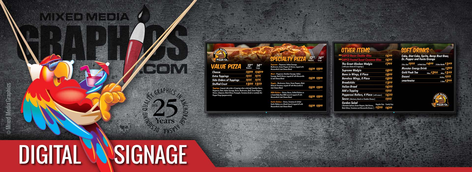 Anchorage Alaska digital signage
